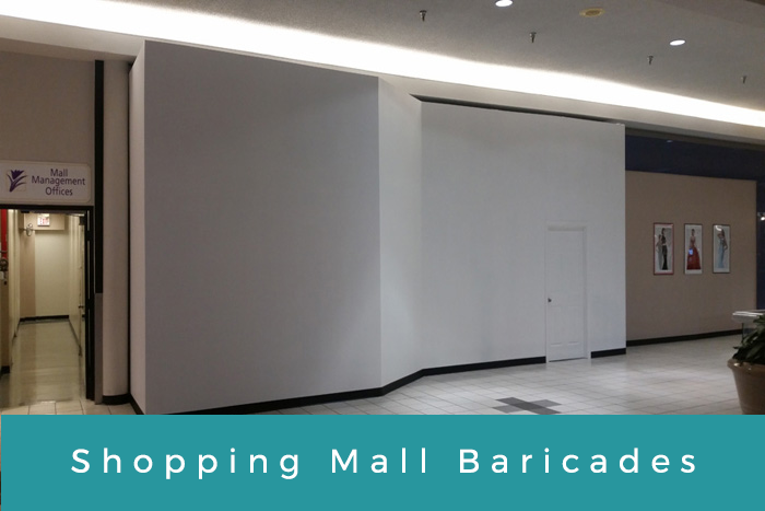 Shopping Mall Baricades